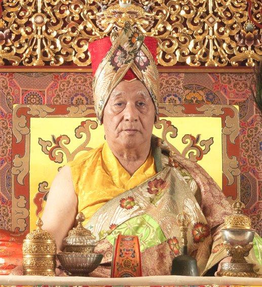 HH Jigdal Dagchen Sakya